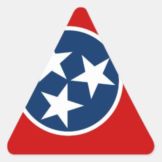 Sticker Triangulaire Drapeau du Tennessee