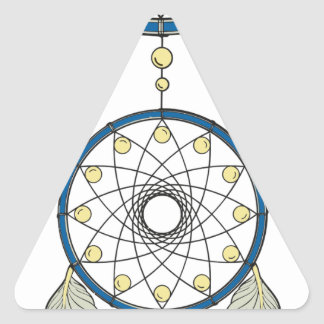Sticker Triangulaire Dreamcatcher