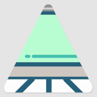 Sticker Triangulaire Écran de visionnement