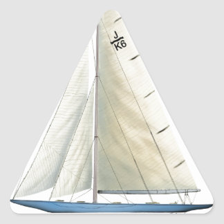 Sticker Triangulaire Effort 1937