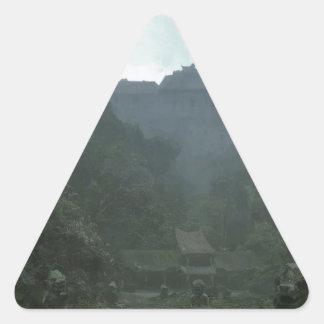 Sticker Triangulaire Empire abandonné