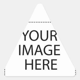 Sticker Triangulaire Entièrement personnalisable VOTRE IMAGE ICI