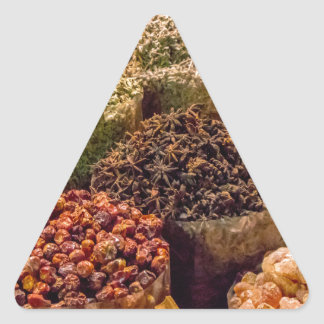 Sticker Triangulaire Épices du Moyen-Orient