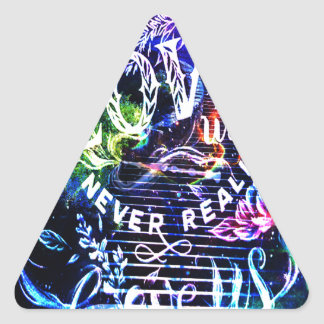 Sticker Triangulaire Escalier celui qui nous aiment