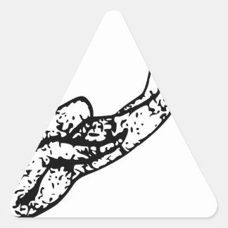 Sticker Triangulaire Explorer de plongeur autonome