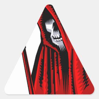 Sticker Triangulaire Faucheuse