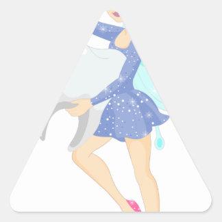 Sticker Triangulaire Fée de dent