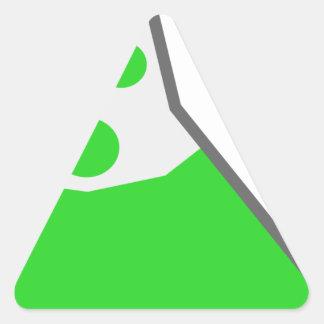 Sticker Triangulaire Flacon