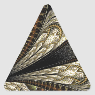 Sticker Triangulaire Fractale de Brown