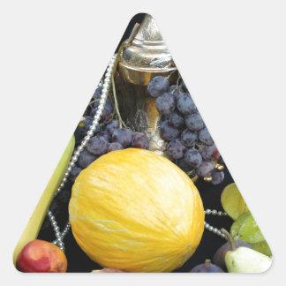 Sticker Triangulaire Fruits chers interdits