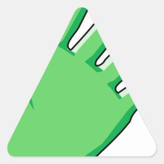 Sticker Triangulaire Gant
