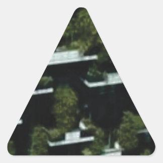 Sticker Triangulaire grenier de jungle
