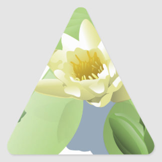 Sticker Triangulaire Grenouille sur une protection de Lilly