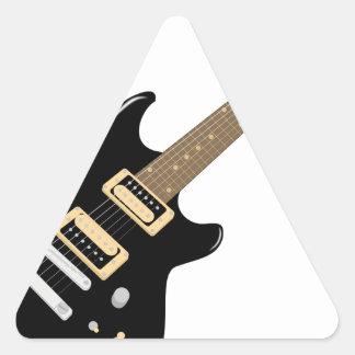 Sticker Triangulaire Guitare électrique