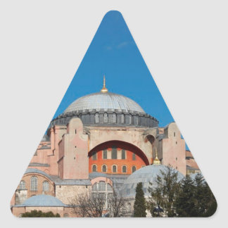 Sticker Triangulaire Hagia Sophia Turquie
