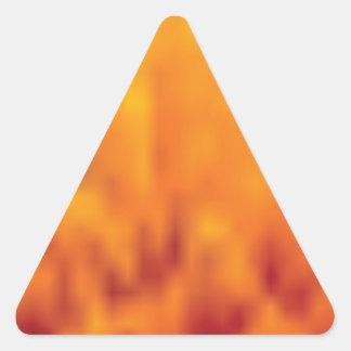 Sticker Triangulaire haut étroit de pollen