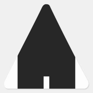 Sticker Triangulaire Homme