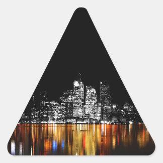 Sticker Triangulaire Horizon de Toronto