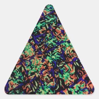 Sticker Triangulaire Hypnotisé