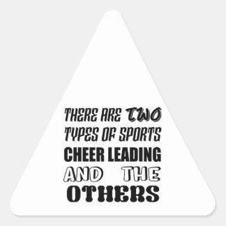 Sticker Triangulaire Il y a deux types de la conduite et d'ot