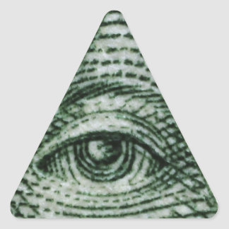 Sticker Triangulaire illuminati