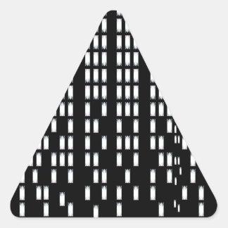 Sticker Triangulaire illustration