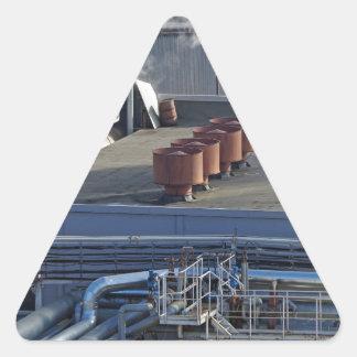 Sticker Triangulaire Infrastructure, bâtiments et canalisation