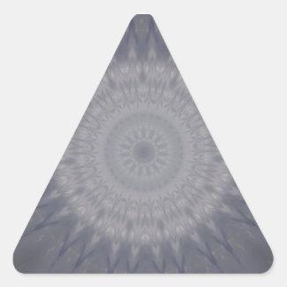 Sticker Triangulaire Iris gris