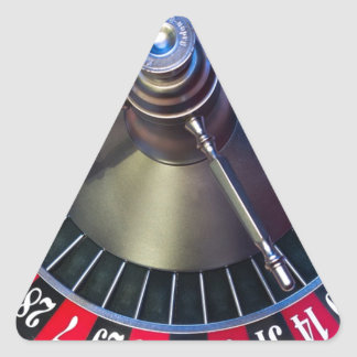 Sticker Triangulaire Jeu de roulette