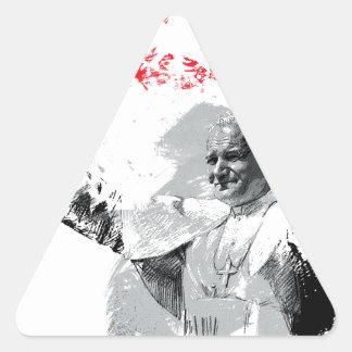 Sticker Triangulaire John Paul le deuxième