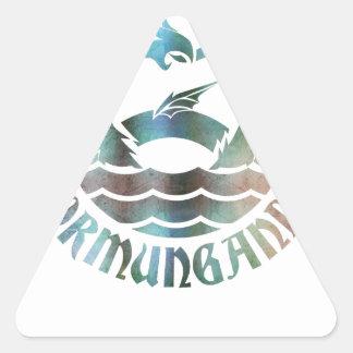 Sticker Triangulaire Jormungandr
