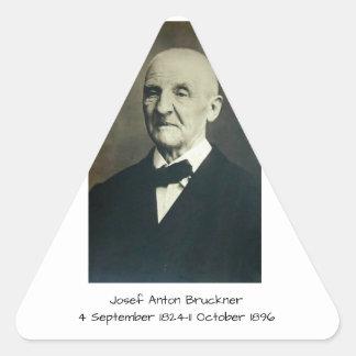 Sticker Triangulaire Josef Anton Bruckner