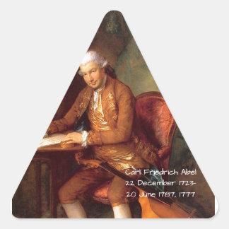 Sticker Triangulaire Karl Friedrich Abel