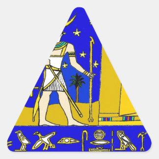 Sticker Triangulaire khonsu