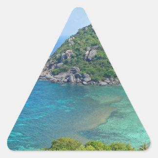 Sticker Triangulaire KOH Tao Thaïlande