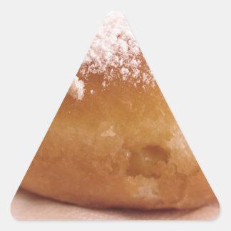 Sticker Triangulaire Krapfen simple (beignet italien)