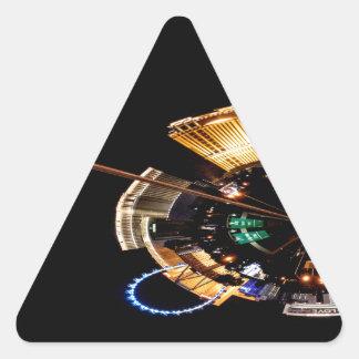 Sticker Triangulaire La bande
