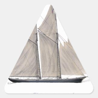 Sticker Triangulaire La Colombie 1871
