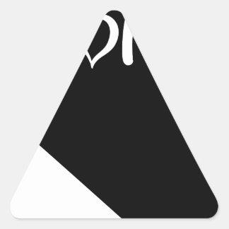 Sticker Triangulaire Le Nevada