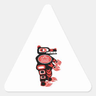 Sticker Triangulaire Le protecteur