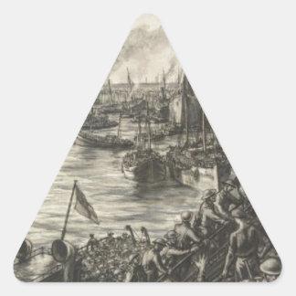 Sticker Triangulaire Le retour de Dunkerque