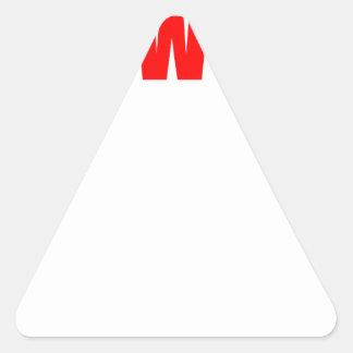 Sticker Triangulaire Le séjour a réveillé le courrier de contrôle