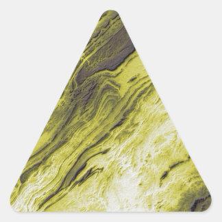 Sticker Triangulaire Les Appalaches dans le style de foudre de