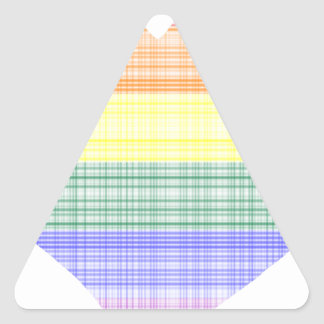 Sticker Triangulaire lgbt14