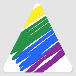 Sticker Triangulaire lgbt16