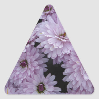 Sticker Triangulaire Light Purple