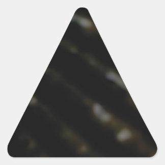 Sticker Triangulaire Ligne inclinée bosses
