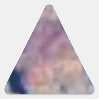 Sticker Triangulaire lignes du désert