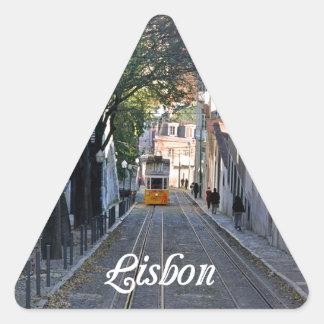 Sticker Triangulaire Lisbonne