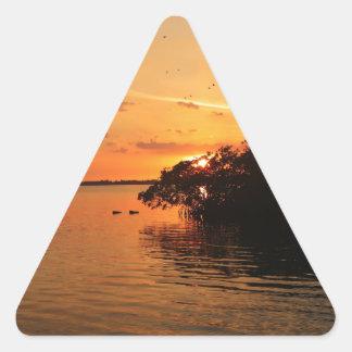 Sticker Triangulaire Lueur de nuit